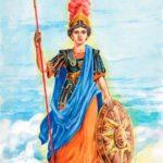 Афина Паллада - Мифы Древней Греции
