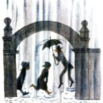 Английские песенки: Ливень - Самуил Маршак