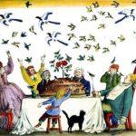 Английские песенки: Птицы в пироге - Самуил Маршак