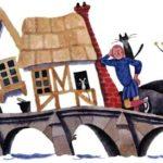 Английские песенки: Жил-был человечек кривой на мосту - Самуил Маршак