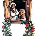 Беляночка и Розочка - Братья Якоб и Вильгельм Гримм