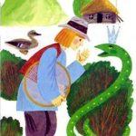 Благодарная змея - Польская сказка