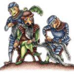 Борода графа - Испанская сказка