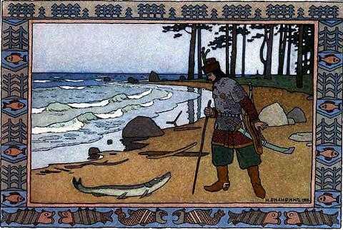 иван-царевич увидел на берегу щуку