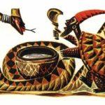 Черепаха и Змея - Африканская сказка