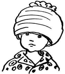 Дениска в шляпе