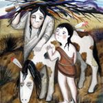 Чудо-конёк (индейская поуни) - Сказка народов Америки