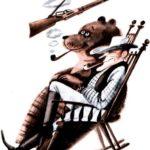 Дэви Крокет - Американская сказка