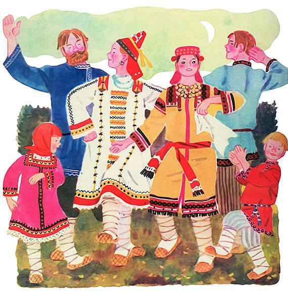 попал рисунок мордовские традиции музея, согласно