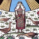 Девушка и ведьма - Албанская сказка