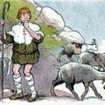 Дикие козы и пастух - Эзоп