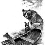 Домик в лесу - Георгий Скребицкий