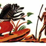 Двадцатипятилетний сильнее всех - Африканская сказка
