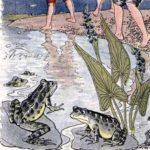 Две лягушки - Эзоп