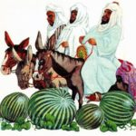 Джиха и три благородных путника - Арабская сказка