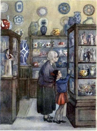 Галия и бабушка в магазине