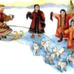 Голубая бусина - Эскимосская сказка