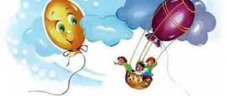 История про два воздушных шарика - Андрей Усачев
