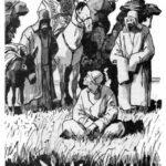 Как Алдар-Косе научил бая возделывать ослов - Казахская сказка