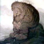 Как Аскеладд с троллем наперегонки ели - Норвежская сказка