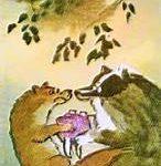 Как барсук и куница судились - Корейская сказка