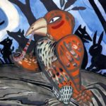 Как черепаха состязалась с лягушкой и орлом (индейская блэкфит) - Сказка народов Америки