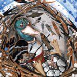 Как селезень одолел северный ветер (индейская оджибве) - Сказка народов Америки