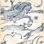 Как созвездие Кан-Ергек появилось (шорская) - Легенды и былины народов России
