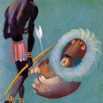 Как тушканчик перехитрил льва - Африканская сказка