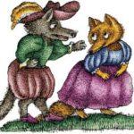 Как волк луну за головку сыра принял - Испанская сказка