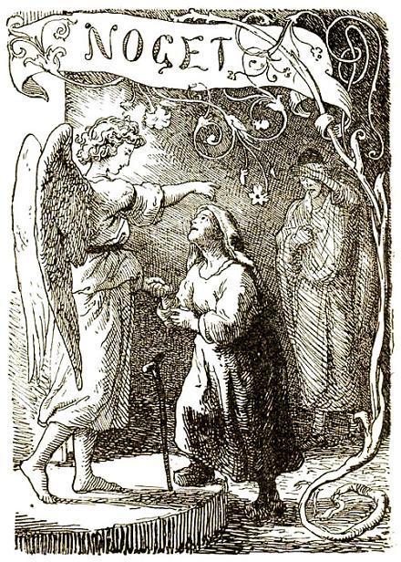 старушка и ангел