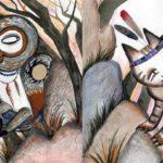 Койот и ведьма-сова (индейская вишрам) - Сказка народов Америки