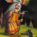 Койот и женщина-сова - Американская сказка
