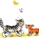 Кошкин щенок - Валентин Берестов