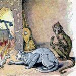 Кот и обезьяна - Эзоп