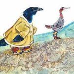 Куличок и и ворон Куркыль - Чукотская сказка