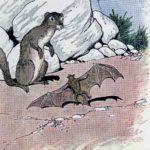 Летучая мышь и ласка - Эзоп