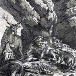 Лев и его двор - Жан де Лафонтен