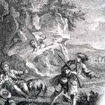 Лев и охотник - Жан де Лафонтен