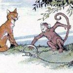 Лиса и обезьяна - Эзоп