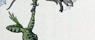 Лягушка и мышь - Эзоп