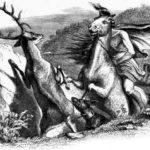 Мстительный конь и олень - Жан де Лафонтен
