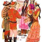 Мудрая девушка (киргизская) - Сказка народов Востока