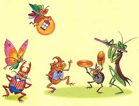 Муха-Цокотуха насекомые