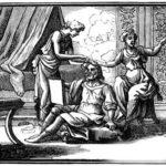 Мужчина средних лет и его две возлюбленные - Жан де Лафонтен