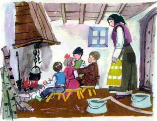 Непослушные дети в сказках картинки