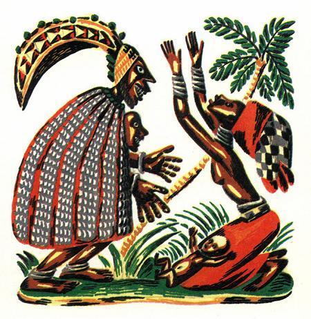 иллюстрации к африканским сказкам одно