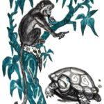 Обезьяна и черепаха - Филиппинская сказка