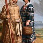 Одноглазый человек и превращение женщины в лисицу (алеутская) - Сказка народов Америки