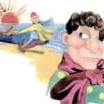Одноглазый и двуглазый - Японская сказка